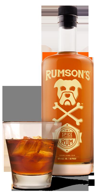 PD_Rumsons_Web_Bottle&Glass_SpicedRum