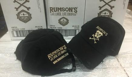 Rumson's Distressed Hat – Black