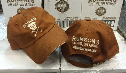 Rumson's Chino Cotton Cap – Brown