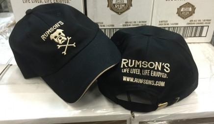 Rumson's Chino Cotton Cap – Black