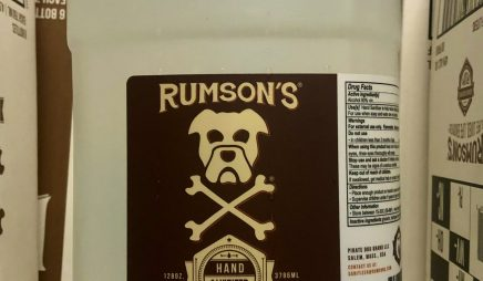 Rumson's Hand Sanitizer